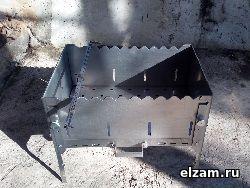 мангал книжка нержавеющая сталь 3 мм купить
