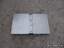 Раскладной мангал. Прямоугольный мангал книжка черный металл 3 мм купить