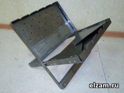Мангал книжка ТРИ-ИКСА мини нержавеющая сталь 3 мм купить